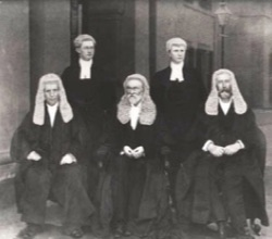 Five judges of the High Court in B&W